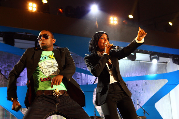 D'Banj & Kelly Rowland performed a duet