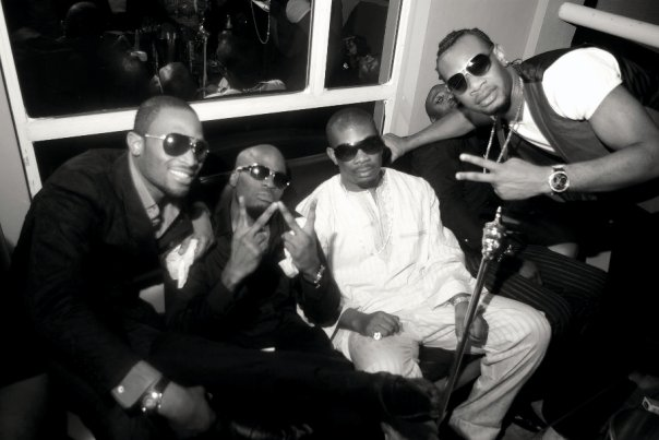 D'Banj, Ikechukwu, Don Jazzy & D'Prince