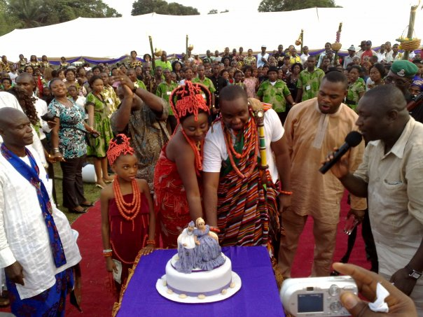 Ini Edo Amp Phillip Ehiagwina Say Their Traditional I DOs