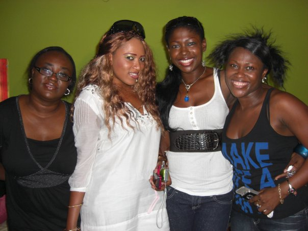 Emem Isong, Rukky Sanda, Susan Peters & Birthday girl, Uche