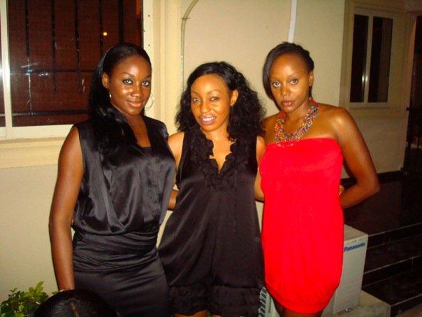 Sola Adewunmi, Rita Dominic & Michelle Dede