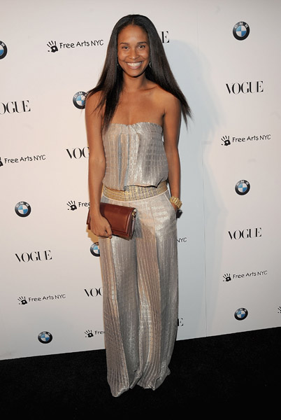 Joy Bryant at Vogue/BMW event