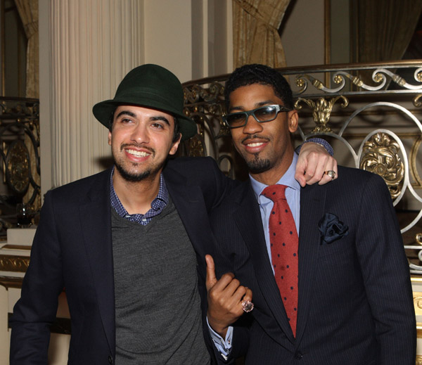 DJ Cassidy and Fonzworth Bentley