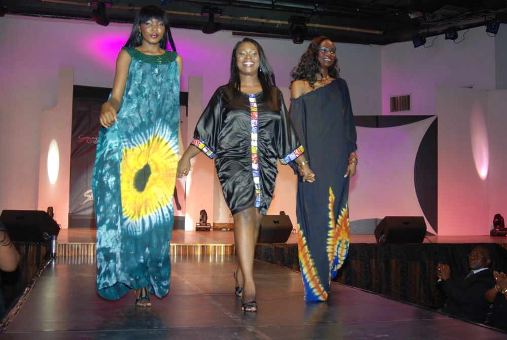 The designer, Amede Nzeribe
