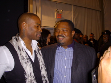 Tyson Beckford and Nduka