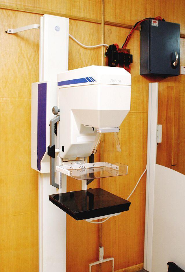 The 'Pink Ball' Mammography Machine