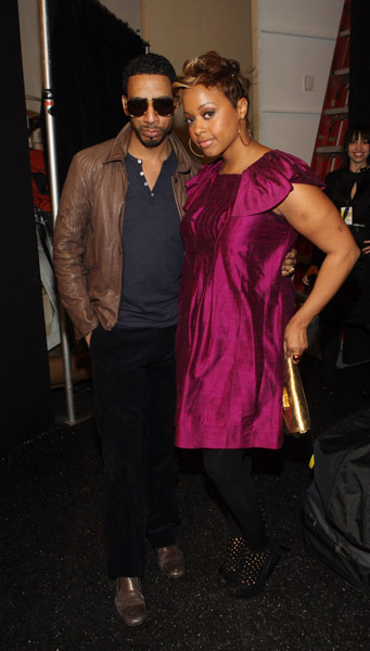 Ryan Leslie & Chrisette Michele<br />