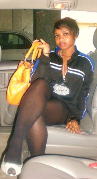 black-with-an-orange-purse
