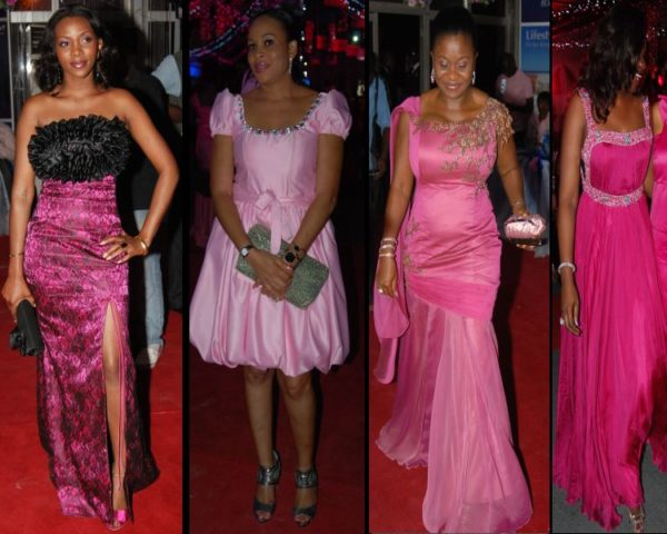 From left: Genevieve, Bukki Wright, Mary Ali-Baba
