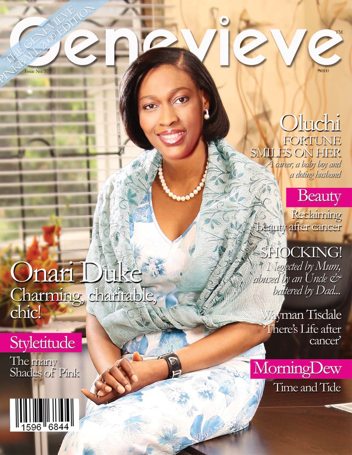 Onari Duke Glows On May Cover As Genevieve Magazine