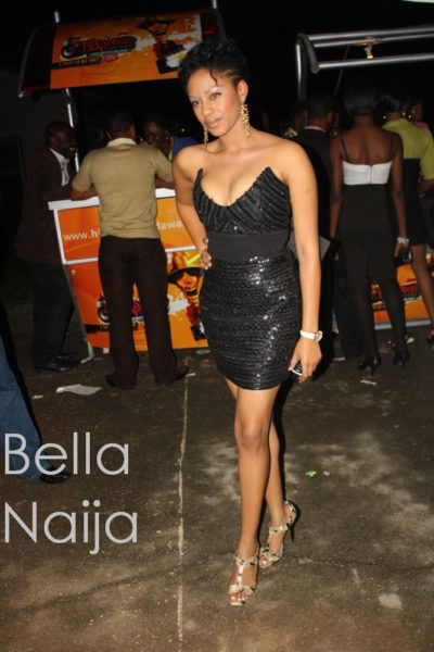 Ex-Beauty Queen and Budding Rapper Munachi was a stunner in black