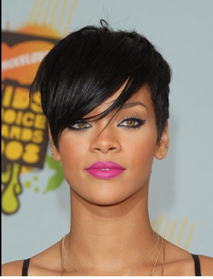 makeup like rihanna. I love Rihanna.