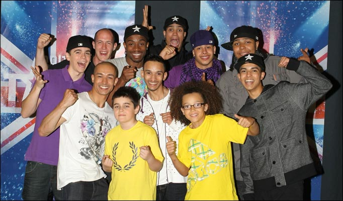 Diversity dance group britain s got