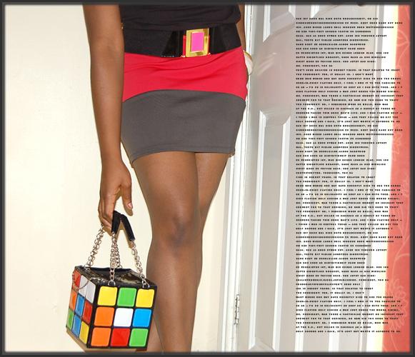 Skirt: Topshop, Shoes: Matalan