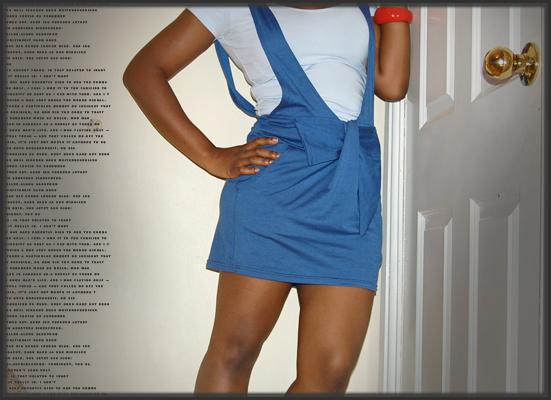 Top: TkMaxx, Dress: ebay