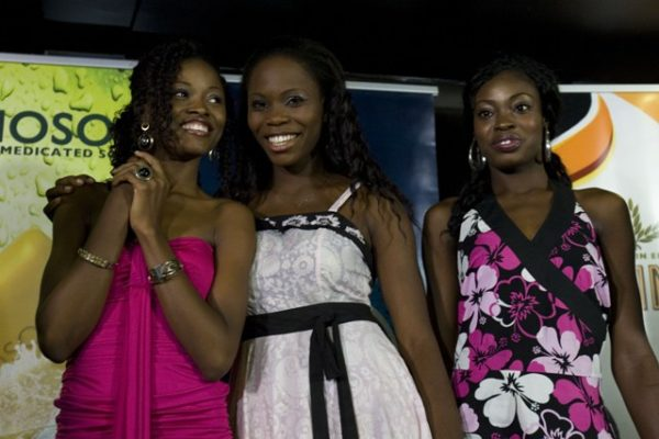 Chioma, Lilian and Bidemi