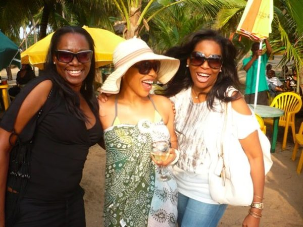Remi Lagos and Helen Prest Ajayi celebrate with Rita