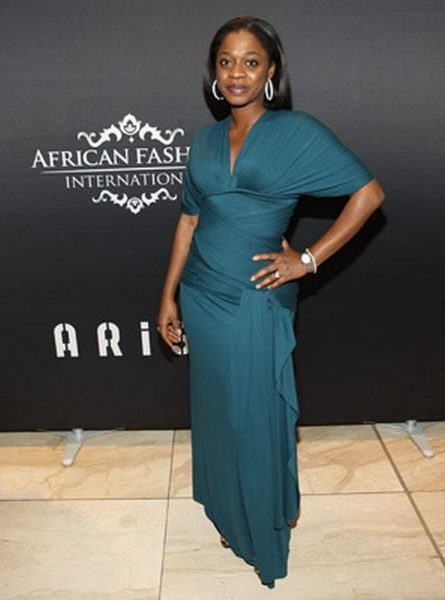 Tiffany Amber Designer Folake Coker - One of the night's big winners