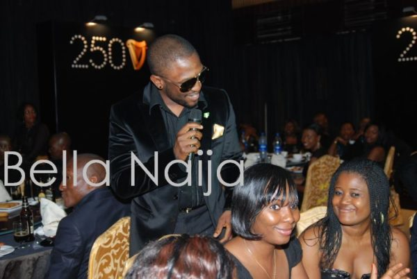 Darey works the crowd into a frenzy