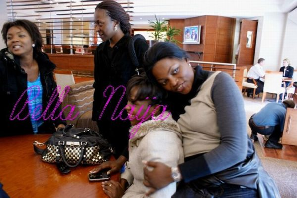 Funke Akindele shares the love!