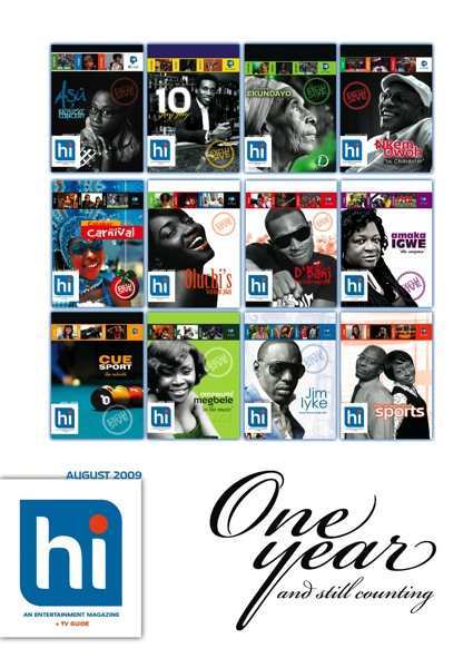 Hi Magazine is 1 Cover