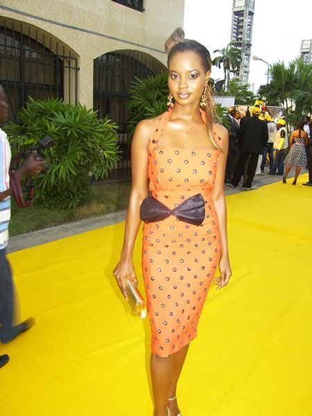 Omowunmi at an Awards Event