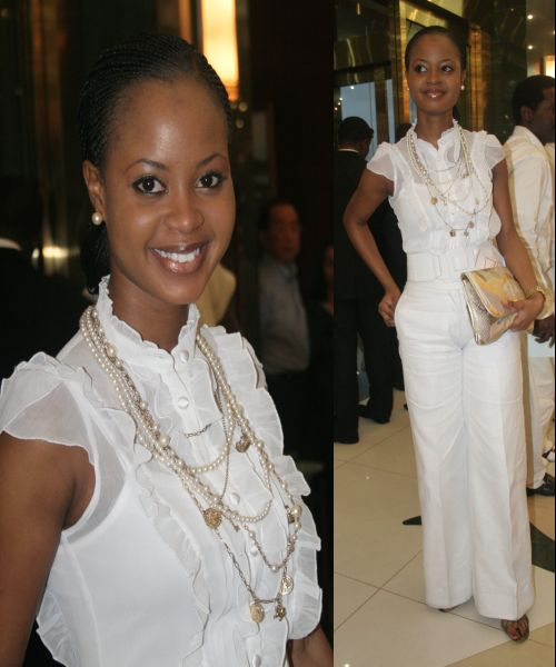 Omowunmi at Encomium White Gig