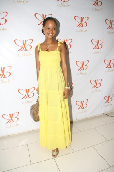 Omowunmi at Rebirth Bag Launch