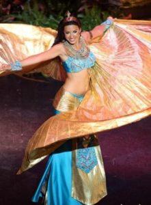 Elham Wagdi - Miss Egypt 2009 - National Costume