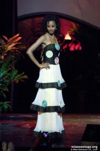 Melat Yante - Miss Ethiopia 2009 - National Costume