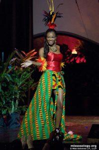 Jennifer Victoria Koranteng - Miss Ghana 2009 - Traditional Costume