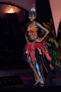 Happie Ntelamo - Miss Namibia 2009 - National Costume