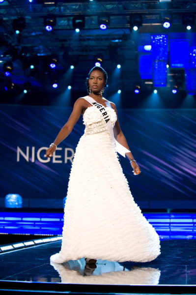 Sandra Otohwo - Miss Nigeria 2009 - Evening Gown