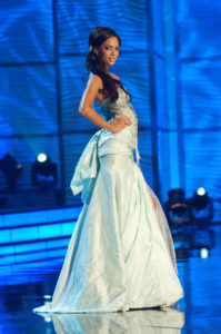 Tatum Keshwar - Miss South Africa 2009 - Evening Gown