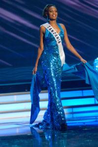 Illuminata Wize - Miss Tanzania 2009 - Evening Gown