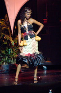 Illuminata Wize - Miss Tanzania 2009 - National Costume