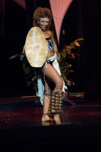 Andella Chileshe-Matthews - Miss Zambia 2009 - National Costume