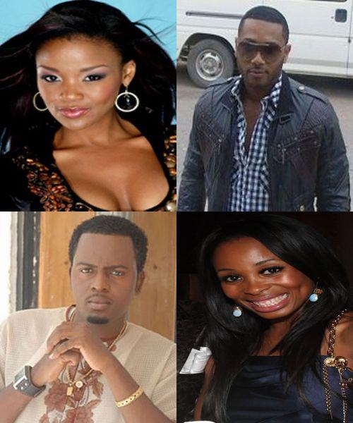 BBA StarMates - SA's Nonhle Thema, Nigeria's Tuvi James, TZ's Steve Kanumba, SA's Khanyi Mbau