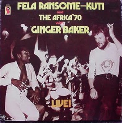 Fela and Ginger On One Of Their Tours