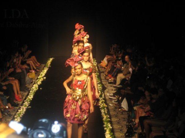 Lanre DaSilva Ajayi Couture on the runway