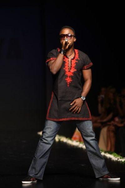 Idols West Africa's winner Iyanya performed