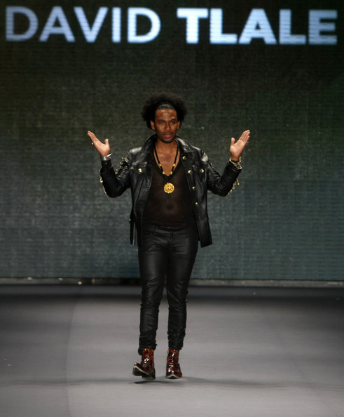 The designer, David Tlale
