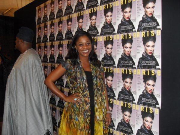 Folake Folarin-Coker of Tiffany Amber poses for BN
