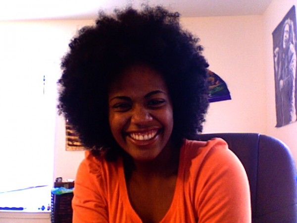 My Afro at 1.5 yrs