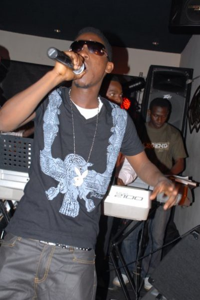 Jesse Jagz supporting Ice Prince on stage