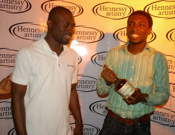 Timi loves his Henny!