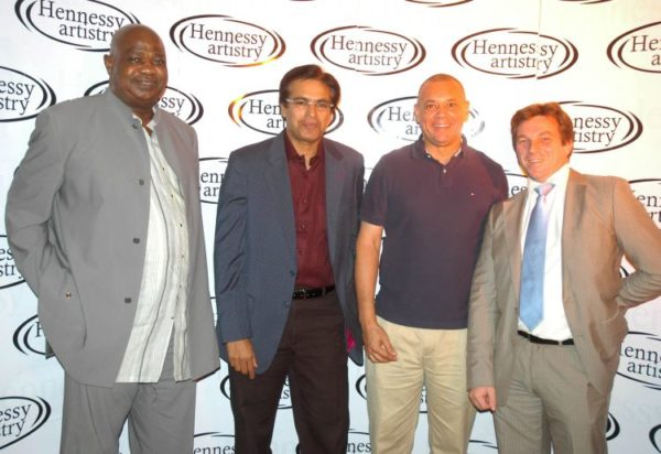GDN & Hennessy Execs with Guy Bruce of Silverbird