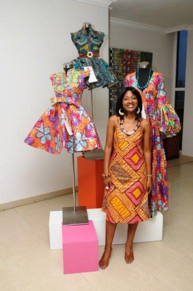 The designer Titi Ademola