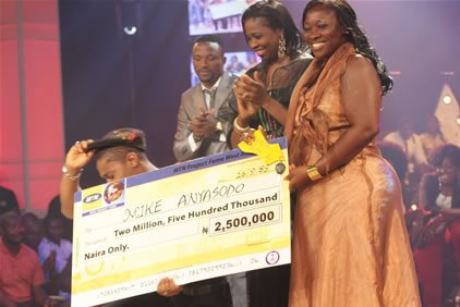 Mike winner Project Fame 2