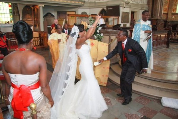 Ronke & Gideon Wedding Bella Naija10